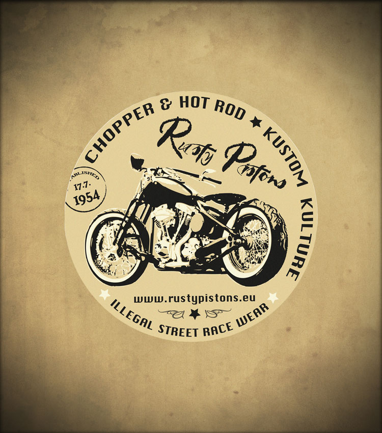 Rusty pistons RPSK05 Stickers