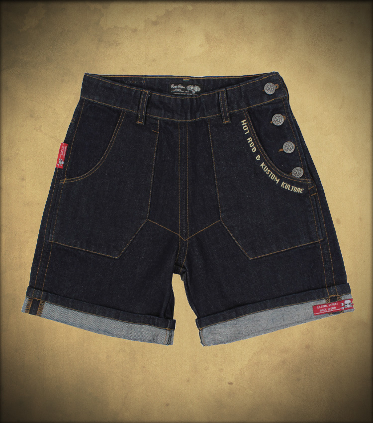 Rusty Pistons RPTRW18 Mabel Raw Denim