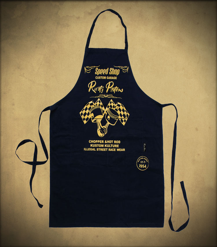 Rusty Pistons RPAP01 Besso apron unisex